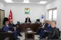 MUSTAFA AK - Başkan Dişli'den SAÜ İlahiyat Fakültesi Dekanı Bostancı'ya Ziyaret