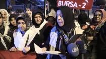 DOĞANBEY - Bursalı Kadınlardan 'Vicdan Konvoyu'na Destek