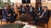 BARıŞ YARKADAŞ - CHP Heyetinden AA'ya Ziyaret