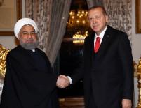 ÜÇLÜ ZİRVE - Erdoğan İran Cumhurbaşkanı Ruhani İle Görüştü