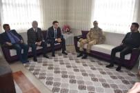 MUSTAFA YıLMAZ - İlçe Protokolünden Afrin Gazisine Ziyaret