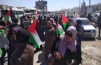SES BOMBASI - İşgalci İsrail Askerlerinden Filistinli Kadınlara Sert Müdahale