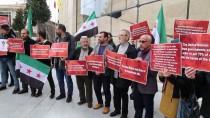 GALATASARAY LISESI - İstanbul'da 'Doğu Guta' Protestosu
