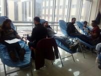 KAFKAS ÜNİVERSİTESİ - Kafkas Üniversitesi Öğrencileri Kan Desteğinde Bulundu