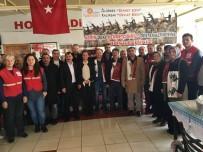 FATIH KıZıLTOPRAK - Kızılay Ergene Şubesi Ve Ergene Samsunlular Derneği'nden Afrin'deki Askerlere Destek