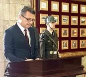 ANıTKABIR - KKTC Başbakanı Erhürman Anıtkabir'de