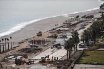 KONYAALTI SAHİLİ - Konyaaltı Sahili Yazı Bekliyor