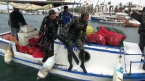 YURTTAŞ - Muğla'da Deniz Dibi Temizliği Sürüyor