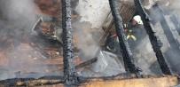 TÜP PATLADI - Mutfakta Tüp Patladı, Yangın Çıktı