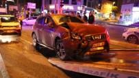 EHLİYETSİZ SÜRÜCÜ - (Özel) Ehliyetsiz Genç Sürücü Kaza Yaptı Açıklaması 2 Yaralı