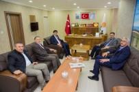Rektör Alma, İl Başkanı Tutulmaz'ı Ziyaret Etti