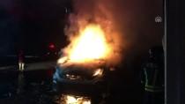 MOBİLYA MAĞAZASI - Samsun'da Mobilya Mağazası Ve İmalathanesinde Yangın