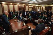 İÇLİ KÖFTE - TFF Başkanı Yıldırım Demirören Başkan Kara'yı Ziyaret Etti