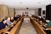 NIHAT ÖZDEMIR - TFF Başkanı Yıldırım Demirören, Vali Ali Yerlikaya'yı Ziyaret Etti
