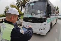 EMNIYET KEMERI - Trafik Polisinden Tabletli Denetim