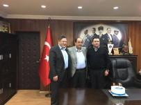 UZUN ÖMÜR - TSO Başkanı'ndan Demirtaş'a Doğum Günü Sürprizi