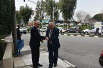 MUSTAFA HAKAN GÜVENÇER - Vali Güvençer'den Mersinli'ye 'Hayırlı Olsun' Ziyareti