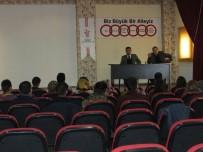 ÖFKE KONTROLÜ - Van'da 'İş Hayatına Uyum' Semineri