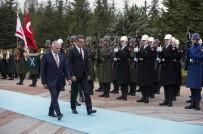 RESMİ TÖREN - Yıldırım, KKTC Başbakanı Erhürman'ı Resmi Törenle Karşıladı