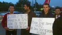 MUSTAFA GÜNEŞ - Yunanistan Büyükelçiliği Önünde Protesto