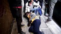 ATINA - Yunanistan'da 'Haciz' Protestosunda Arbede
