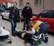 İLK MÜDAHALE - Aksaray'da 7 Katlı Apartmanın Çatısından Atlayan Kişi Hayatını Kaybetti