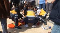 KÜÇÜK KIZ - Antalya'da 6. Kattan Düşen Çocuk Ağır Yaralandı