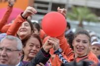 ATAERKIL - Antalya'da Kadına Yönelik Şiddete Mor İğne