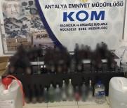 SAHTE İÇKİ - Antalya'da Sahte İçki İmalatçılarına Büyük Darbe