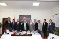 MESUT ÖZAKCAN - AY-SİAD'tan Başkan Özakcan'a Ziyaret