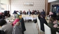 İLKBAHAR - Başkan Aydın, Şehit Ve Gazi Aileleriyle Bir Araya Geldi
