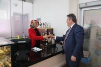 ÇOCUK BAKIMI - Başkan Palancıoğlu Kadın Kültür Merkezlerini Ziyaret Etti