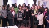 İŞ KADINI - Bulgaristan'da Kadınlar Günü, Ebru Sanatıyla Kutlandı