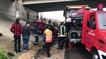 HAFRİYAT KAMYONU - Bursa'da Trafik Kazası Açıklaması 1 Ölü