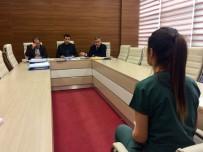 MEHMET TURAN - Hastanedeki Taşeron İşçiler Mülakata Girdi