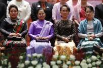 AUNG SAN SUU KYI - Kadınlara Yapılan Zulme Sessiz Kalan Myanmar Lideri'nden 'Kadınlar Günü' Kutlaması