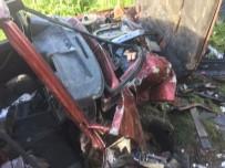 DİŞ TEDAVİSİ - Karacasu'da Trafik Kazası Açıklaması 1 Ölü, 4 Yaralı