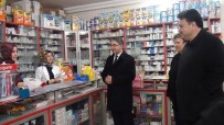 ŞEREF AYDıN - Kaymakam Ve Başkan'dan Kadın Esnaflara Ziyaret