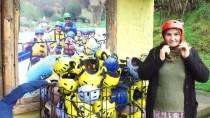 MELEN ÇAYI - Köylü Kadınların Rafting Heyecanı