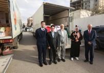 YETİM ÇOCUKLAR - Libya'da 400 Aileye Gıda Yardımı