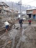 BEĞENDIK - Mahallenin Gençleri Bahar Temizliği Yaptı