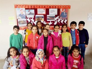 Öğrenciler 15 Temmuz'u İngilizce anlattı