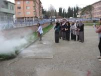 SEDAT BÜYÜK - Pazaryeri HEM'de Yangın Ve Deprem Tatbikatı