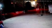 İLK MÜDAHALE - Polisten Kaçan Şüphelilerin Kaza Anı Kamerada