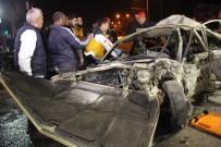 KIRMIZI IŞIK - Polisten Kaçarken Kaza Yaptılar