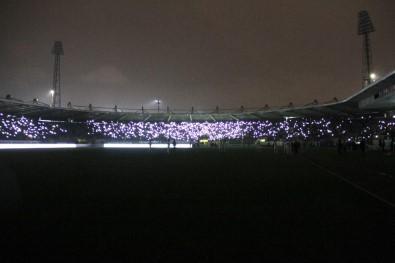 Elektrikler kesildi maç yarıda kesildi