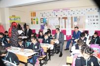 NACI KALKANCı - Vali Kalkancı Öğrenci Ve Öğretmenlerle Bir Araya Geldi