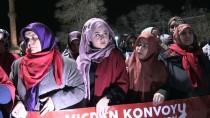 SAVAŞ SUÇU - 'Vicdan Konvoyu'na Aksaray'dan Destek