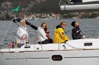 GÖCEK - Yelkenleri Kadına Şiddete Karşı Açtılar