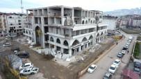 KADER - Yeni Belediye Binasında İnşaat Çalışmaları Hızla Devam Ediyor